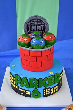 City Watch Ninja Turtle Cake