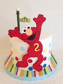 Elmo Birthday Cake 2