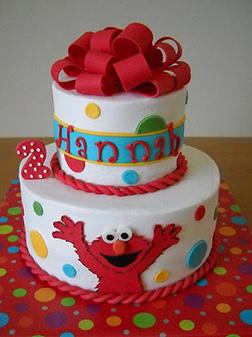 Elmo's Surprise Cake 2
