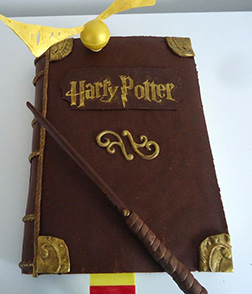 Harry Potter Themed Cake 3