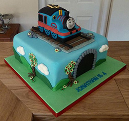 All Aboard! Thomas Cake