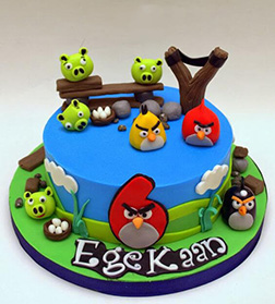 Angry Birds Level Up Cake