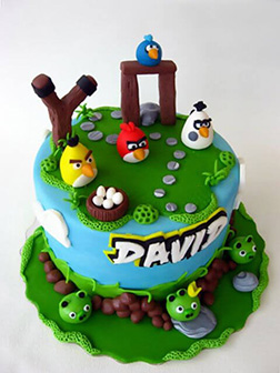 Angry Birds Final Level Cake 2