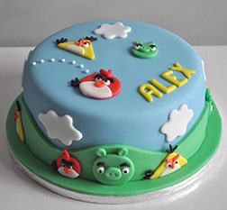 Angry Birds Aerial Assault Cake 2