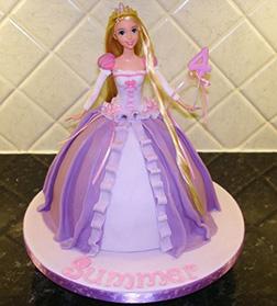 Princess Rapunzel 3D Cake 2