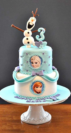 Sing Your Heart Out Frozen Cake