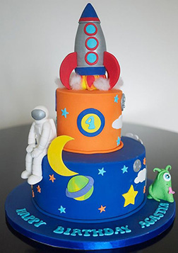 Man on the Moon Cake