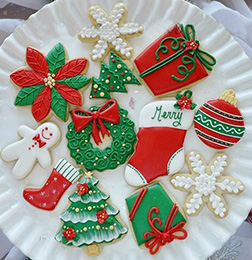 Happy Holiday Cookies