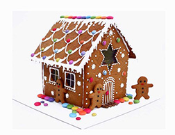 Gingerbread Icicles House