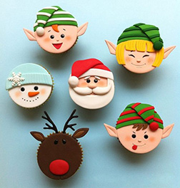 At The North Pole Dozen (12) CupCakes