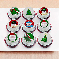 Marvelous Christmas Dozen (12) Cupcakes