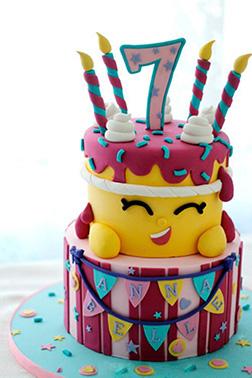 Shopkins Wishes Cake 1