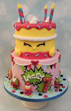 Shopkins Wishes Cake 3