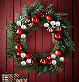 All That Glitters Christmas Wreath