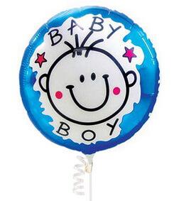 Baby Boy Balloon I