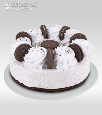 Oreo Rush Baked Cheesecake