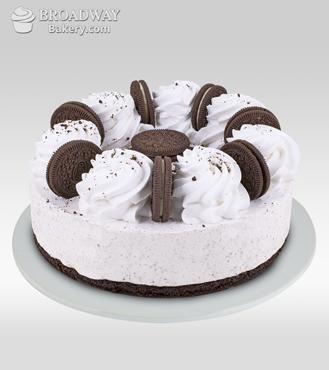 Oreo Rush Baked Cheesecake