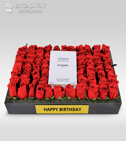 Fields of Roses with Coco Mademoiselle by Chanel (Birthday)