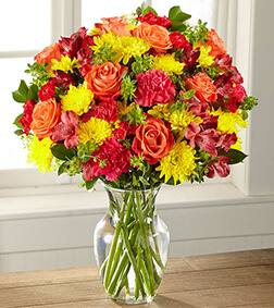 Bright and Happy Birthday Bouquet