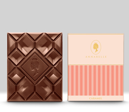 Caramel Chocolate Bar By Annabelle