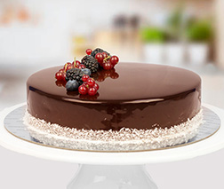 Sugarfree Signature Chocolate Cake - 1Kg