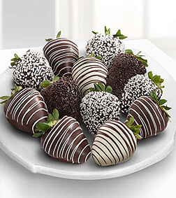 The Perfect Couple - Dozen Dipped Strawberries