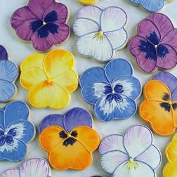 Artisan Flower Cookies