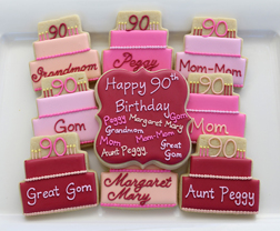 Grand Birthday Cake Cookies