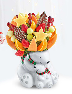 Cuddle Bears Fruit Bouquet