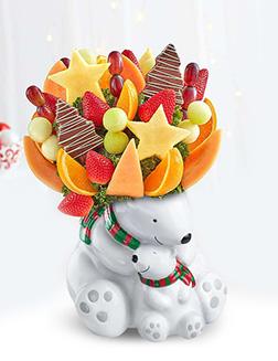 Cuddle Bears Fruit Bouquet
