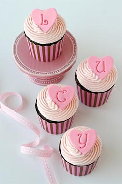 Love Letters Dozen Cupcakes