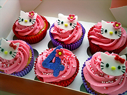 Hello Kitty Party Dozen Cupcakes
