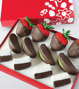 Delectable Dipped Fruit Trio