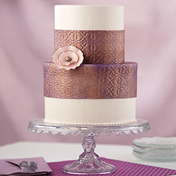 Floral Decorum Cake