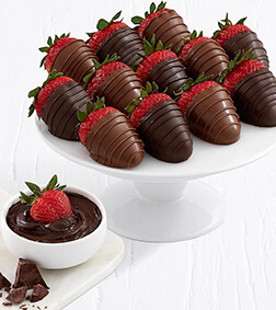 Sinful Creation - Dozen Dipped Strawberries