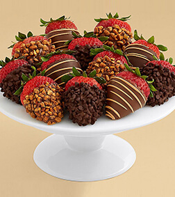 Devil's Kiss - Dozen Dipped Strawberries