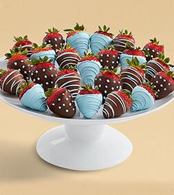 True Blue - Two Dozen Dipped Strawberries