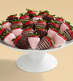 'Berry' Happy Anniversary - Two Dozen Dipped Strawberries