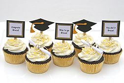 Gifted Scholar Graduation Cupcakes
