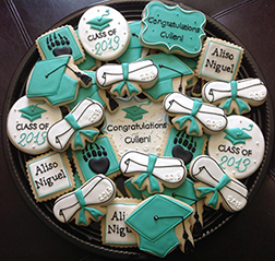 Graduation Ceremony Cookies