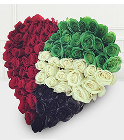 Patriot's Heart National Day Bouquet