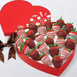Color Of Love Dipped Strawberries