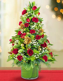 Christmas Flower Tree