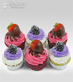 Fruity Goodness Gift Box -Half dozen