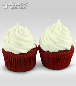 Red Velvet Addiction - 2 Cupcakes