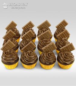 Chocolate Bomb - 12 Cupcakes