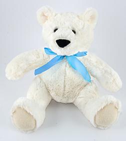 Teddy Bear with Blue Bow