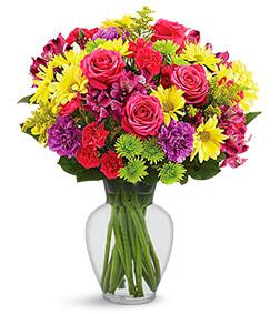 Bloom of Color Bouquet