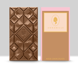 Large Milk Chocolate Bar By Annabelle