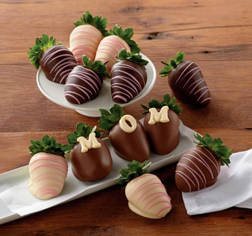 Super Mom Dipped Berries